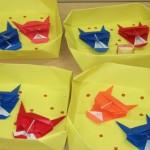 折り紙ボランティア「折り鶴」活動スタート