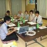 11区福祉推進員勉強会(8/6)