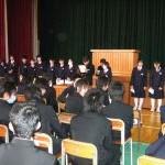 総合的な学習の時間in涌谷町中学校(11/4)