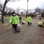 城山公園清掃活動(ボランティアの会)