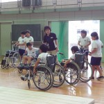 小里小学校4年 キャップハンディ体験(6/19)