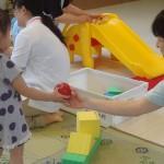 エプロンおばさんと遊ぼう広場in箟岳公民館