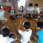 涌谷第一小学校 キャップハンディ体験