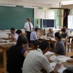 学校訪問(涌谷町民生委員児童委員協議会)