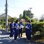 涌谷中学校福祉学習