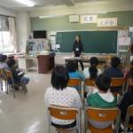 月将館小学校4年生福祉教育