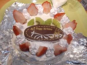 和浩様ケーキ