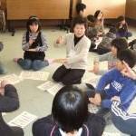 涌谷第三小学校4年生への出前講座
