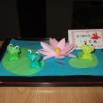 折り紙の会「折り鶴」